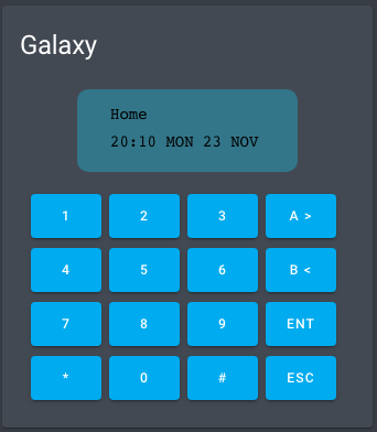 Virtual keypad
